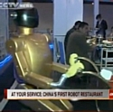 Idée d'ailleurs: en Chine, des robots remplacent les serveurs…