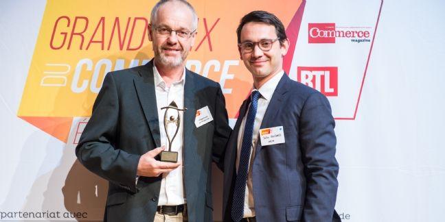 Grand Prix du Commerce : Philippe Rouxel est le Commerçant durable 2015