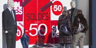 Temps gris sur les soldes d'hiver 2015