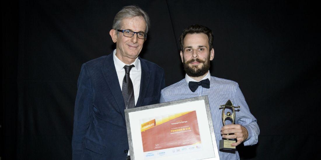Grand Prix des Commerçants : Tonsor & Cie remporte le Trophée du commerce Concept et design 2016