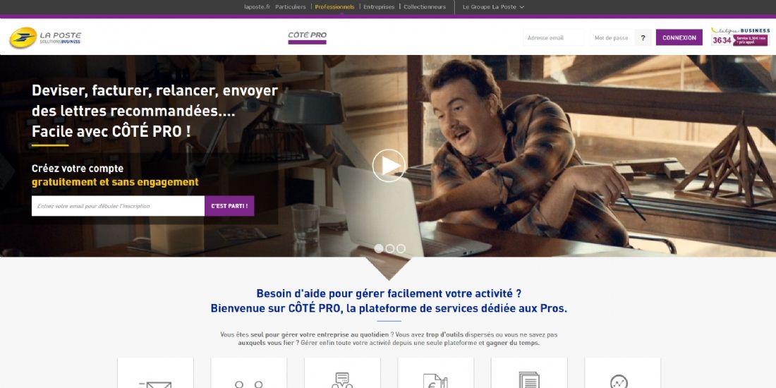 La Poste veut faciliter la vie des professionnels avec Côté Pro
