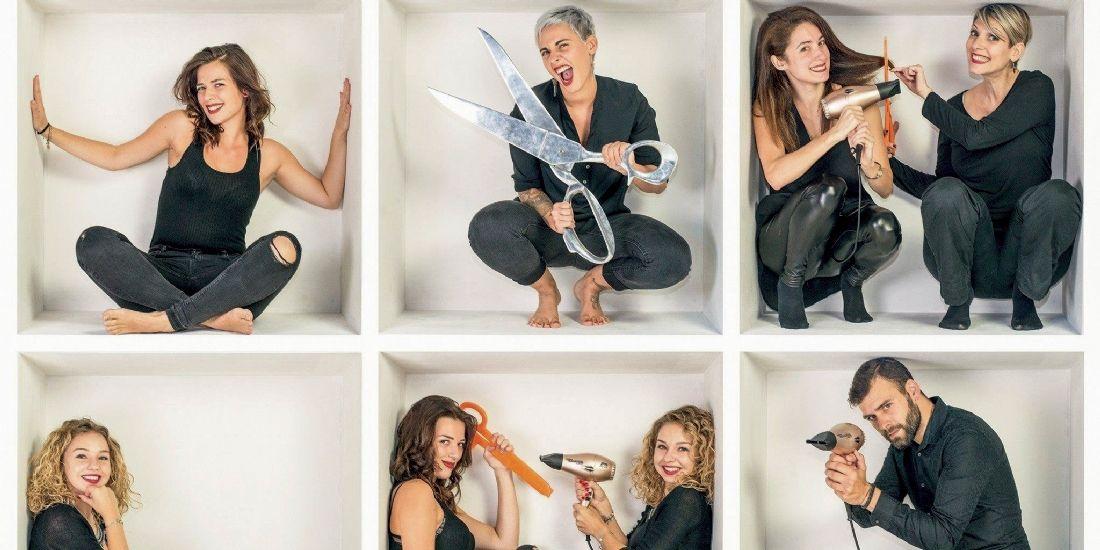 Pour communiquer, le salon de coiffure Andalasia publie des informations sur Facebook, un jour sur deux