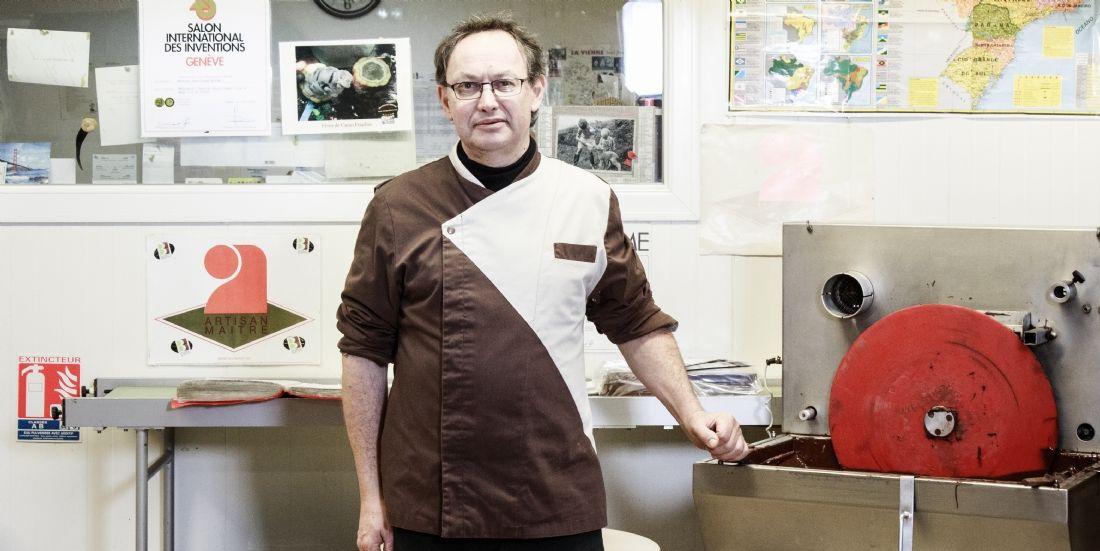 [#LesPros2018] Jean-Claude Berton met l'innovation au coeur de sa chocolaterie