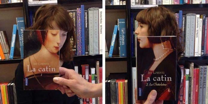 A Bordeaux, une librairie mise sur la créativité en mettant en scène la couverture des livres