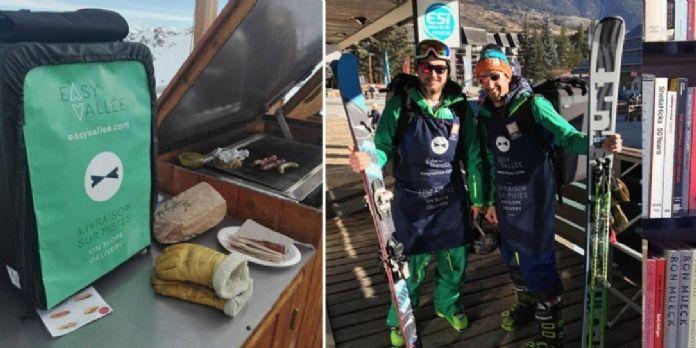 A Serre Chevalier, des déjeuners livrés directement sur les pistes de ski
