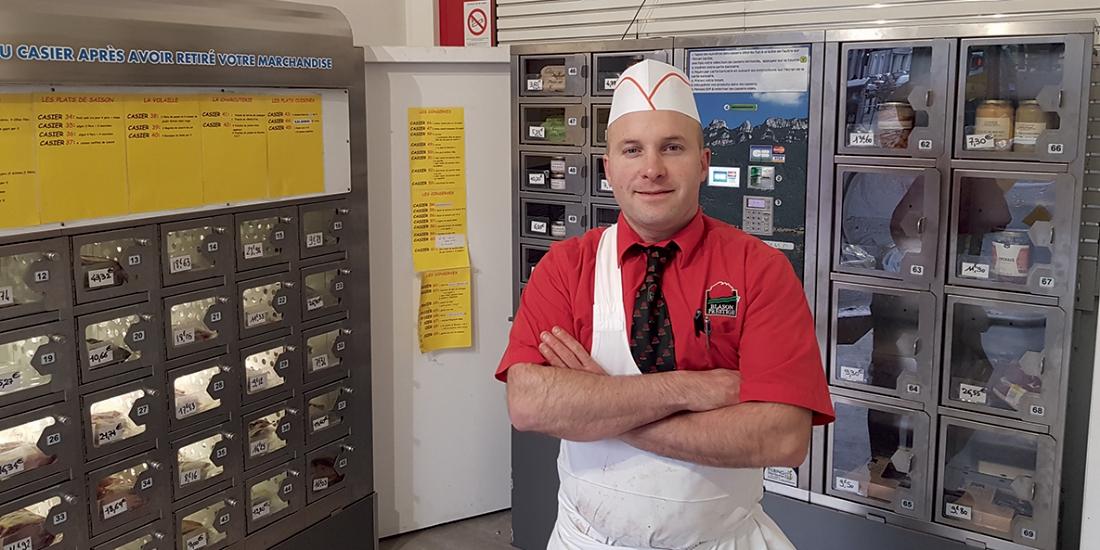 Boucherie Compozieux, la tradition en libre-service