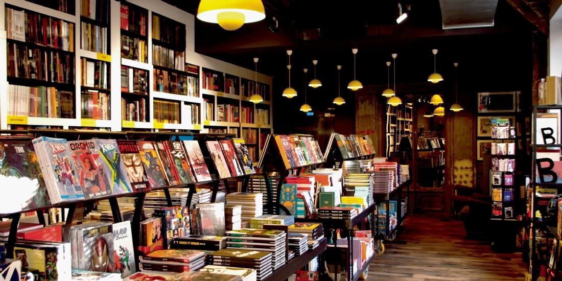 La librairie Bulle au Mans est devenue grande